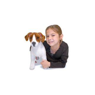 Melissa and Doug Jack Russell Terrier Dog Plush Toy