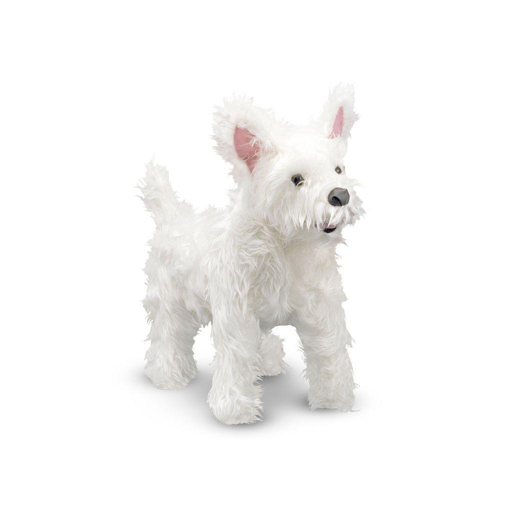 Melissa & Doug West Highland Terrier Dog Giant Plush