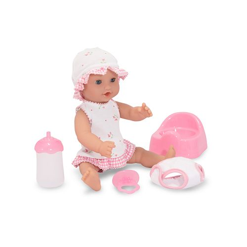 Melissa & Doug Annie Drink & Wet 12-in. Doll