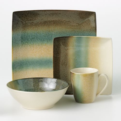 Sango Nouveau Teal 16-pc. Dinnerware Set