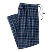 Croft and Barrow Plaid Lounge Pants - Big and Tall