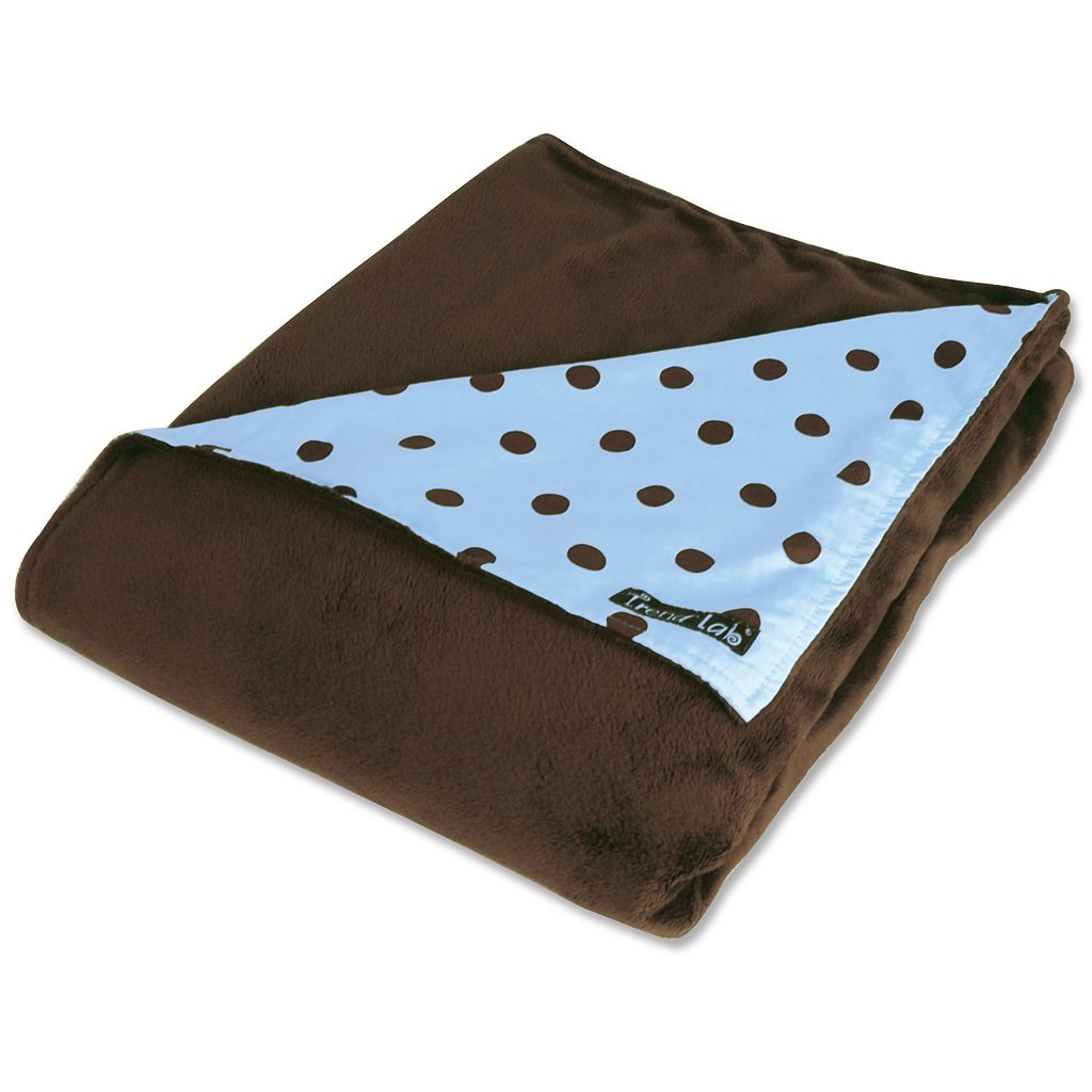Trend Lab Dot Receiving Blanket