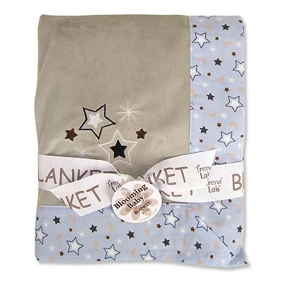 Trend Lab Rockets Star Receiving Blanket