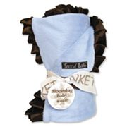 Trend Lab Ruffled Velour Receiving Blanket