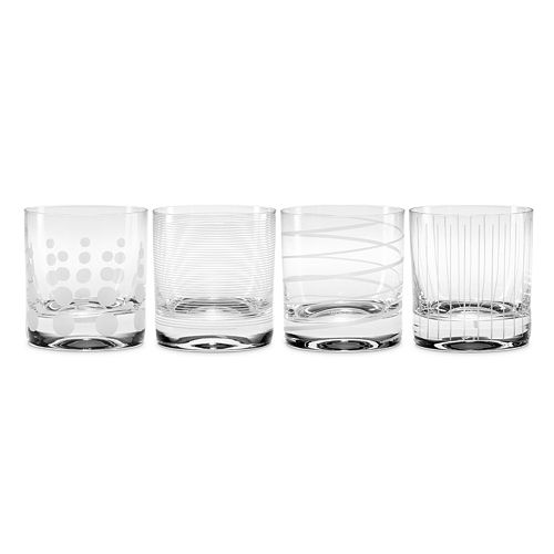 Mikasa Cheers 4-pc. Double Old Fashioned Glass Set