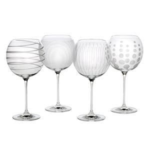 e7b9633b83b Mikasa Cheers 4-pc. White Wine Glasses