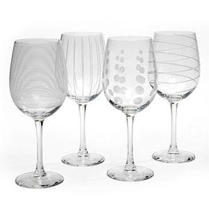 Mikasa Cheers 4-pc. White Wine Glasses