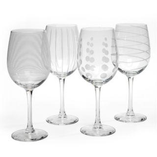 Mikasa Cheers 4-pc. White Wine Glass Set