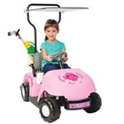 National Products Princess Golf Cart Ride-On