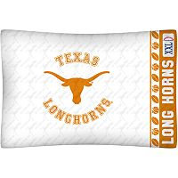 Texas Longhorns Standard Pillowcase