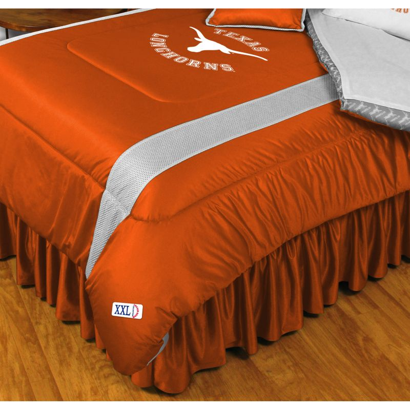 Texas Longhorns Comforter - Twin, Orange