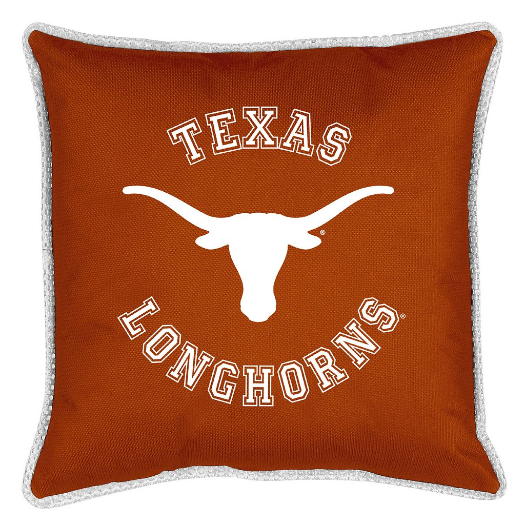 Texas Longhorns Decorative Pillow