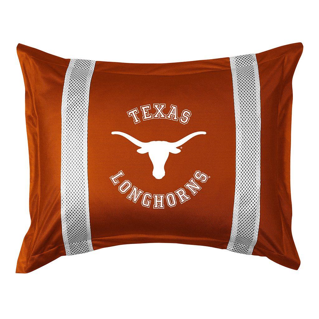 Texas Longhorns Standard Pillow Sham