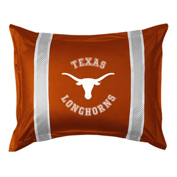 Texas Longhorns Standard Pillow Sham