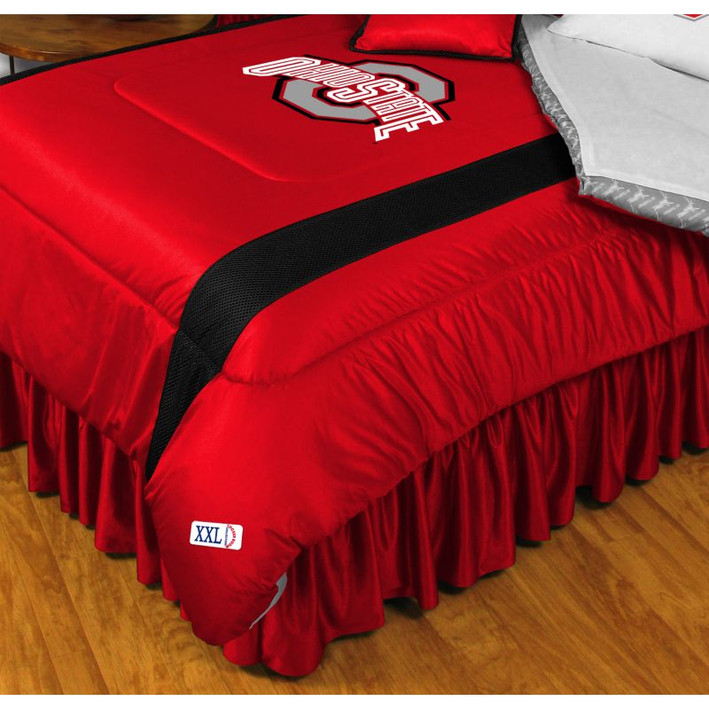Ohio State Buckeyes Comforter - Twin, Red