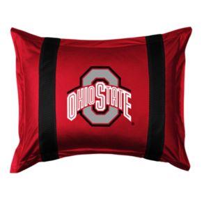 Ohio State Buckeyes Standard Pillow Sham