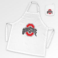 Ohio State Buckeyes Tailgate Apron & Potholder Set