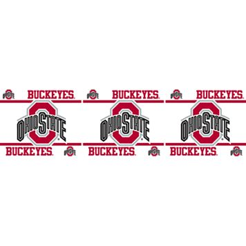 Ohio State Buckeyes Wall Border