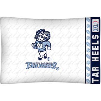 North Carolina Tar Heels Standard Pillowcase