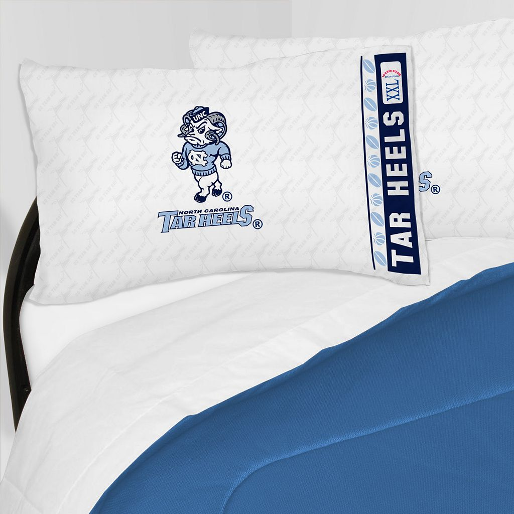 North Carolina Tar Heels Sheet Set - Full