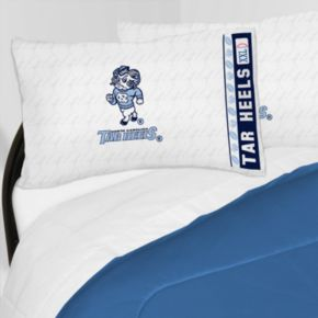 North Carolina Tar Heels Sheet Set - Queen