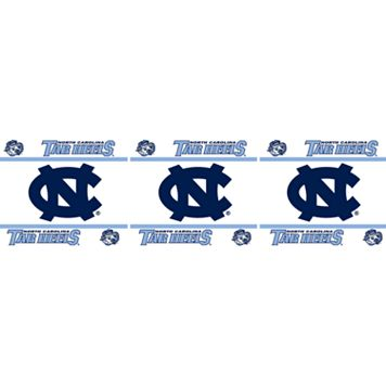 North Carolina Tar Heels Wall Border