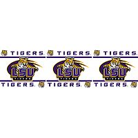 LSU Tigers Wall Border