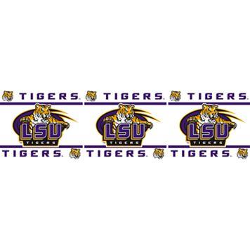 LSU Tigers Wall Border