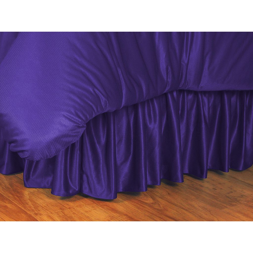 LSU Tigers Bedskirt - Full