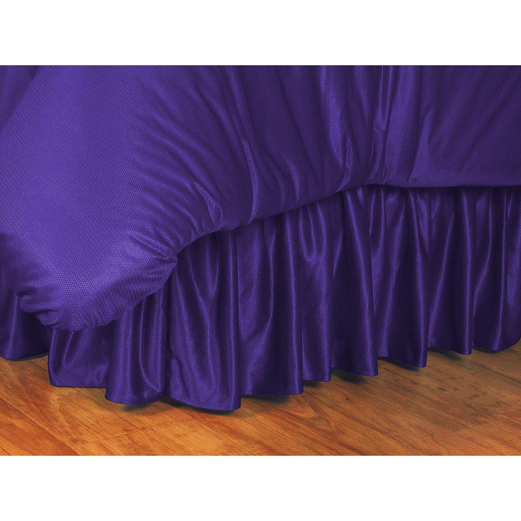 LSU Tigers Bedskirt - Twin