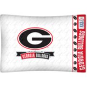 Georgia Bulldogs Standard Pillowcase