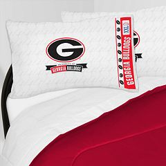 Georgia Bulldogs Sheet Set - Twin