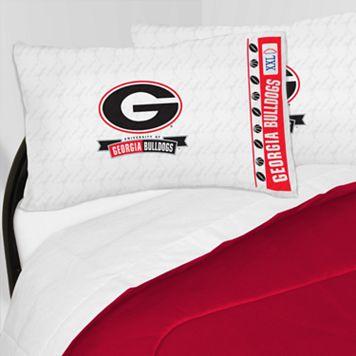 Georgia Bulldogs Sheet Set - Twin