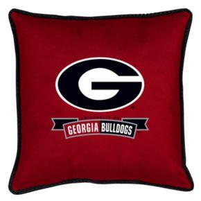 Georgia Bulldogs Decorative Pillow