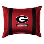 Georgia Bulldogs Standard Pillow Sham