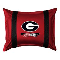 Georgia Bulldogs Standard Pillow Sham
