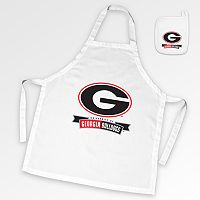 Georgia Bulldogs Tailgate Apron & Potholder Set