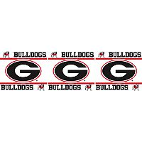 Georgia Bulldogs Wall Border