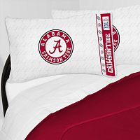 Alabama Crimson Tide Sheet Set - Twin