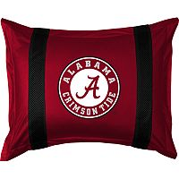 Alabama Crimson Tide Standard Pillow Sham
