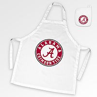 Alabama Crimson Tide Tailgate Apron & Potholder Set