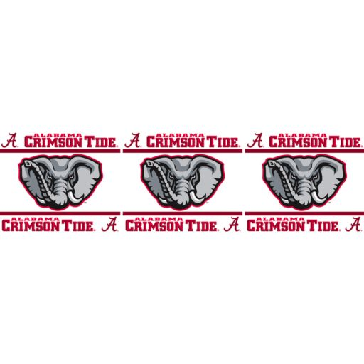 Alabama Crimson Tide Wall Border