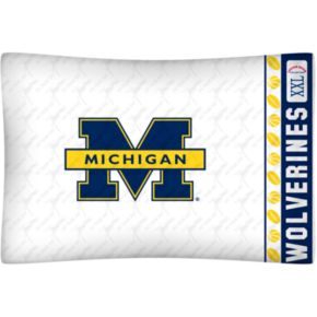 Michigan Wolverines Standard Pillowcase