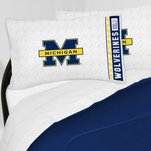 Michigan Wolverines Sheet Set - Full