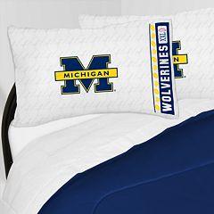 Michigan Wolverines Sheet Set - Queen