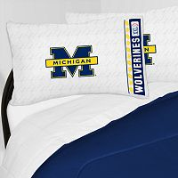 Michigan Wolverines Sheet Set - Twin