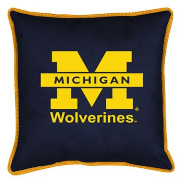 Michigan Wolverines Decorative Pillow