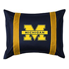 Michigan Wolverines Standard Pillow Sham