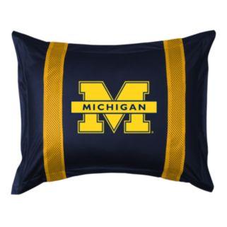 Michigan Wolverines Standard Pillow Sham
