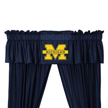 Michigan Wolverines Window Valance - 14'' x 88''